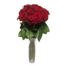 Stunning Love: 12 red roses